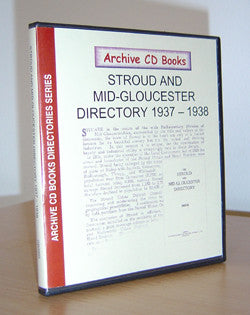 Stroud & Mid-Gloucester Directory 1937-8