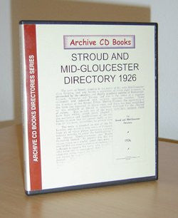 Stroud & Mid-Gloucester Directory 1926