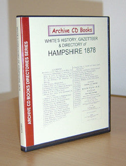 White's 1878 History, Directory and Gazetteer of Hampshire