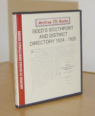 Image unavailable: Seed's 1924-5 Directory of Southport & District