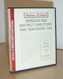 Swindon & District Directory and Year Book 1939