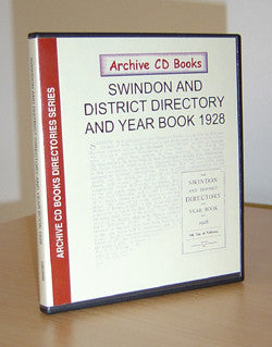 Swindon & District Directory & Year Book 1928