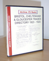 Image unavailable: 1923-4 Bristol, Cheltenham & Gloucester Trades Directory