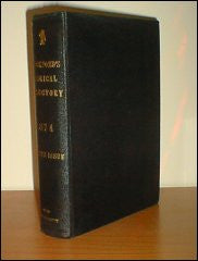 Crockford's Clerical Directory 1874