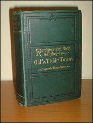 Swindon Fifty Years Ago (More or less), Reminiscences, Notes and Relics of the Old Wiltshire Town. 1885