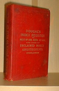 Dougal's Unclaimed Money Register