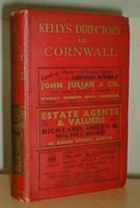 Kelly's 1939 Directory of Cornwall