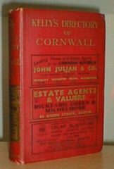Image unavailable: Kelly's 1939 Directory of Cornwall