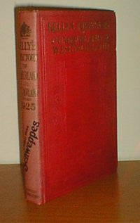 1925 Kelly's Directory of Cumberland.