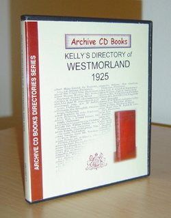 1925 Kelly's Directory of Westmorland.