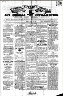 Soulby's Ulverston Advertiser 1848-1862 Set