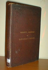 Barretts' Directory and Topography of Lancaster, 1886