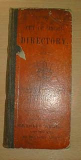 The City of Lincoln Directory 1867