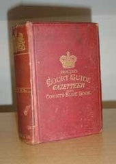 Image unavailable: Deacon's Court Guide and Gazetteer of Devon 1882