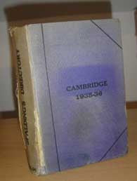 Cambridge Directory 1935-6