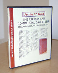 Image unavailable: The Railway and Commercial Gazetteer