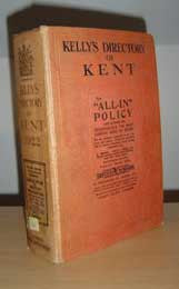 Kelly's Directory of Kent 1922
