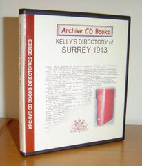 Image unavailable: Surrey 1913 Kelly's Directory