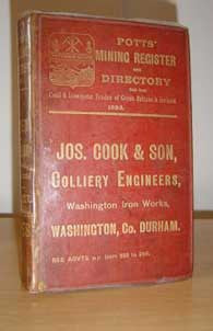 Potts' 1893 Mining Register & Directory