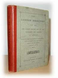 The London Directory of 1677