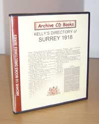 Kelly's Directory of Surrey, 1918