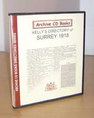 Image unavailable: Kelly's Directory of Surrey, 1918