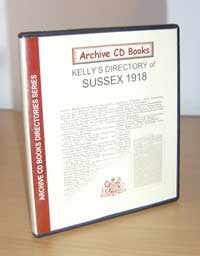Kelly's Directory of Sussex, 1918