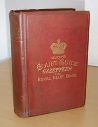 Deacon's Court Guide, Gazetteer and Royal Blue Book of Gloucestershire 1880