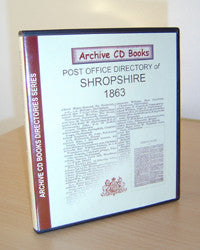 1863 Post Office Directory of Shropshire