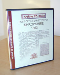 Image unavailable: 1863 Post Office Directory of Shropshire