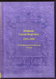 Denham Parish Registers, 1539-1850