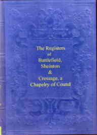 The Registers of Battlefield, Sheinton & Cressage
