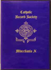 Image unavailable: The Catholic Register Society Miscellanea X