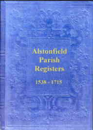 Alstonfield Parish Register 1538-1715