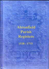 Image unavailable: Alstonfield Parish Register 1538-1715