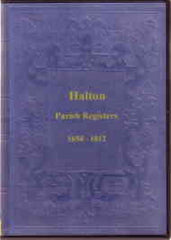 Image unavailable: Halton Parish Register 1654-1812