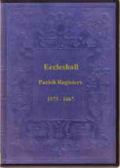 Image unavailable: Eccleshall Parish Register vol 1 & 2 1573-1656
