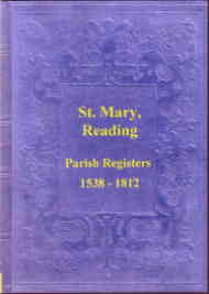 Registers of the Parish of St Mary, Reading