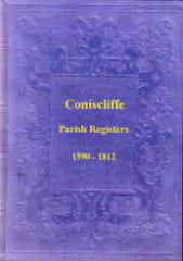Image unavailable: Coniscliffe Parish Register 1590-1812