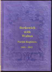 Image unavailable: Berkswich & Walton Parish Registers 1601-1812