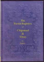 Image unavailable: Chipstead & Titsey Parish Registers