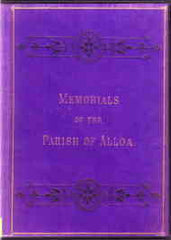 Image unavailable: Memorials of the Town and Parish of Alloa