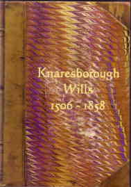 Wills & Administration from Knaresborough Court Rolls