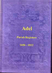 Image unavailable: Adel Parish Registers 1606-1812