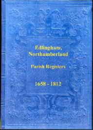 Parish Registers of Edlingham