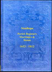 Image unavailable: Parish Registers of Stanhope 1613-1812