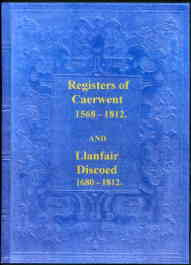 Parish Registers of Caerwent & Llanfair Discoed