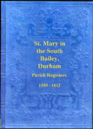 Parish Registers of St. Mary South Bailey Durham