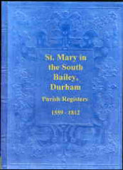Image unavailable: Parish Registers of St. Mary South Bailey Durham