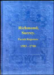 Parish Registers of Richmond, Surrey